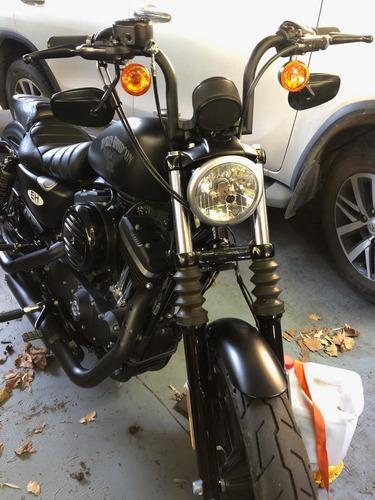 Harley Davidson Iron 883 2017 Negro Denim, Particular