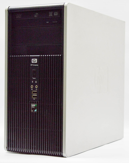 Computador Hp Compaq Amd 2gb Ram 80gb Hd