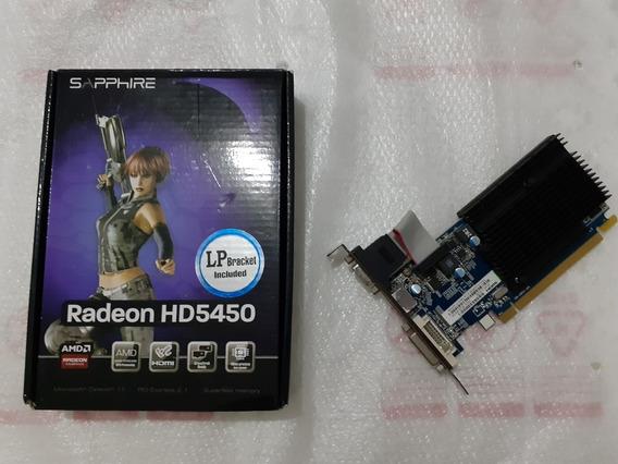 Placa Video Amd Radeon Hd 5450 Pcie X 16 Graphics 1 Gb Ddr3
