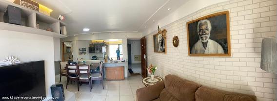 Apartamento Para Venda Em Natal, Capim Macio, 3 Dormitórios, 1 Suíte, 3 Banheiros, 2 Vagas - Ka 1057_2-1062384