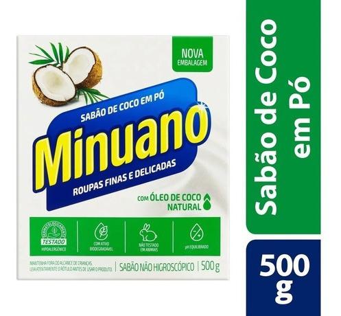 Sabão Em Pó De Coco Roupas Finas E Delicadas 500g
