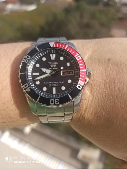 Relógio Seiko Pepsi Snzf15j1 Made In Japan Original + Elos