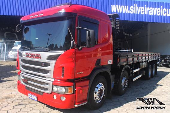 Scania P 310 - Ano: 2014 - 4º Eixo - Carroceria