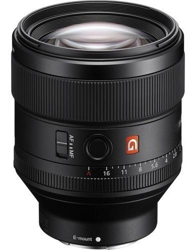 Sony Fe 85mm 1.4 Gm Lente