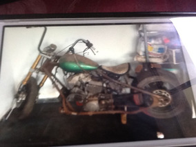 Projeto Chopper Estilo Moto Antiga Easy Rider Barato