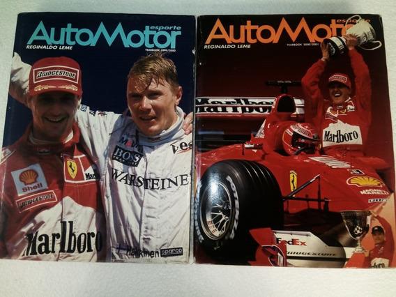 Livro Auto Motor Esporte (leia O Anúncio)