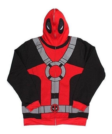 Marvel Deadpool Sudadera Con Mascara