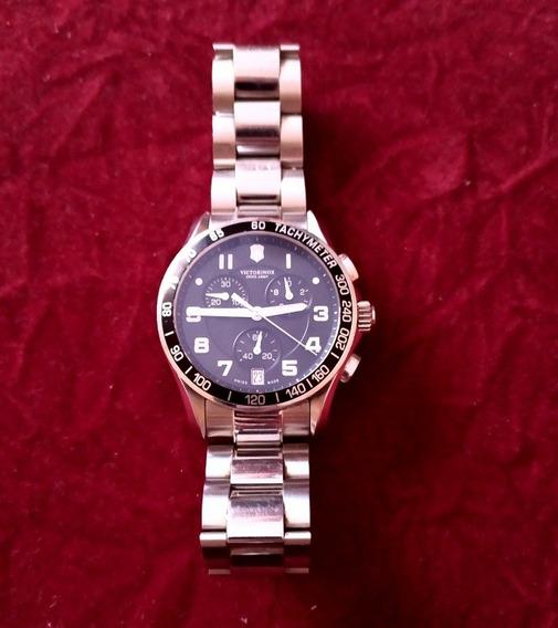 Relógio Victorinox Chrono Classic Xls Preto