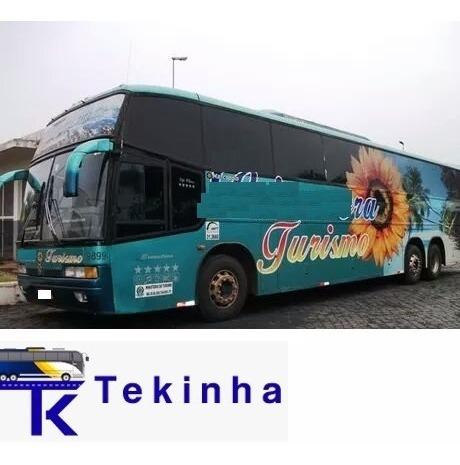 Ônibus Rodoviário Trucado Viaggio Alto - Ano 1998 Tekinhabus