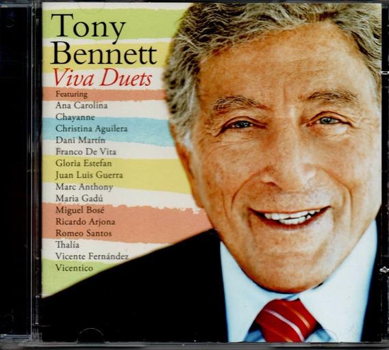 Cd Tony Bennett - Viva Duets