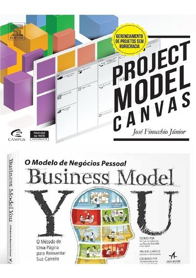 Business Model You + Project Model Canvas Livros Frete Gráti