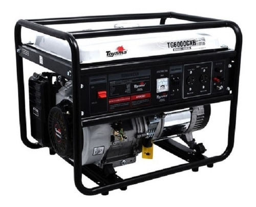 Imagem 1 de 5 de Gerador A Gasolina Toyama Tg6000cxh