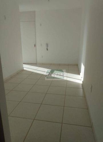 Imagem 1 de 6 de Apartamento Com 2 Dormitórios Para Alugar, 42 M² Por R$ 1.000,00/mês - Colônia Terra Nova - Manaus/am - Ap3333