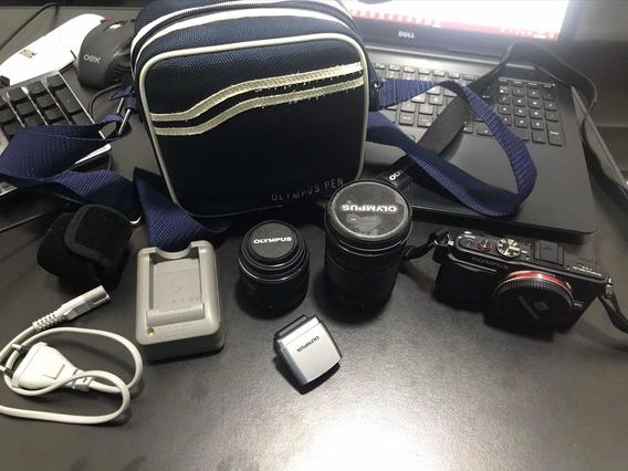 Câmera Digital Olympus E-pl6 Com Todos Acessórios