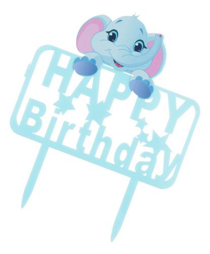 Pastel De Torta De Cumpleaños Feliz Topper Torta Topping