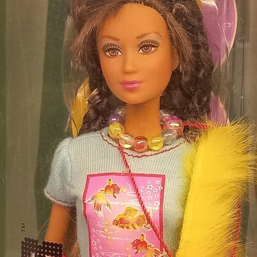 Imagem 1 de 7 de Barbie Fashion Fever Tokyo Kayla Amiga 2006 Rara Tubo