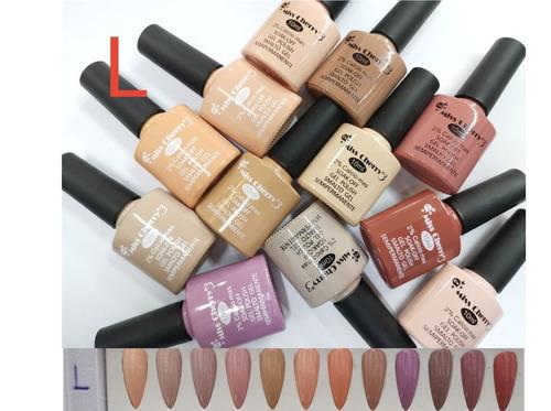 Imagen 1 de 2 de 12 Gelish Miss Cherry Gama L Color Nude 10ml +1 Lima Regalo