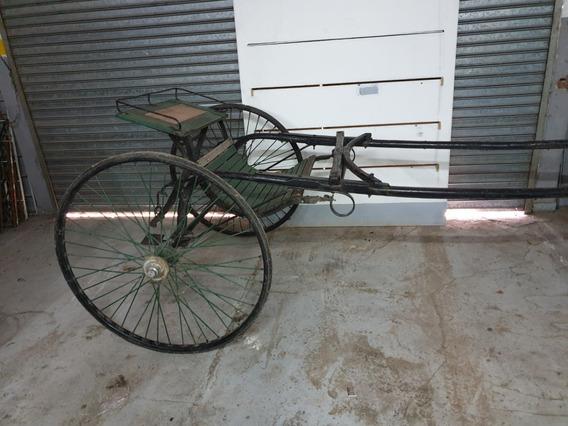 Sulky Original Para Caballo O Yegua. Carro Antiguo