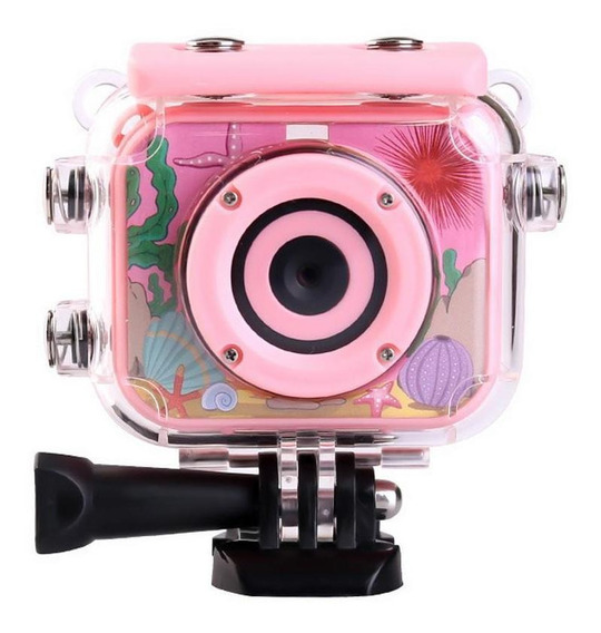 Câmera Digital Infantil Pequeno Durável Prático Impermeável