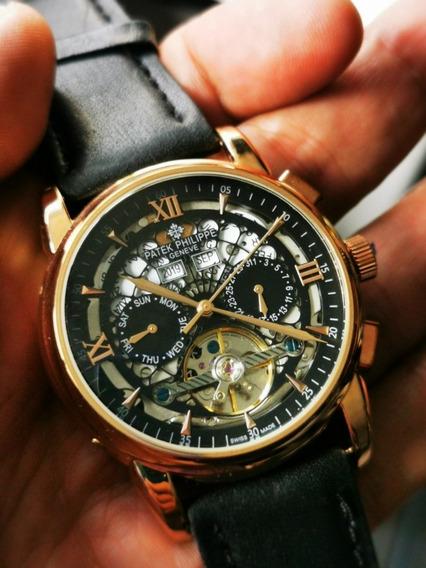 Reloj Patek Philipppe Automático Turbillon Calendario Comple