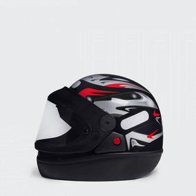 Capacete Moto San Marino Taurus Preto Fosco Tam 58
