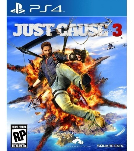 Just Cause 3 Para Ps4 Mídia Física Blu-ray Original Lacrada
