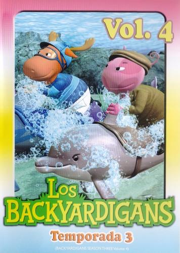Imagen 1 de 3 de Los Backyardigans Temporada 3 Tres Volumen 4 Cuatro Dvd