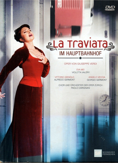 La Traviata - Im Hauptbahnhof - 2 Boxset ( Dvd )