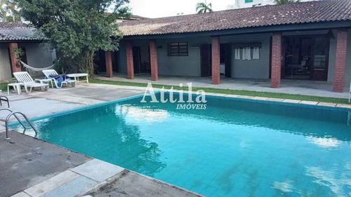 Imagem 1 de 22 de Casa Térrea , 150mts Praia Pernambuco, 6 Dorms., Lazer - V2773