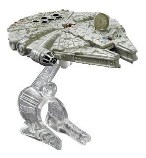 Halcón Milenario Star Wars Hot Wheels Mattel Die Cast Nave