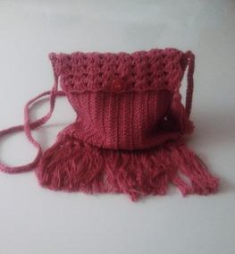 Bolsa De Ombro Pequena De Crochê