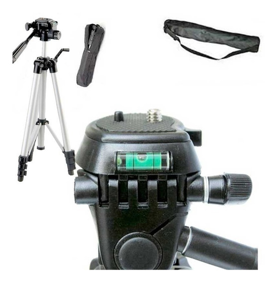 Tripé Aluminio 1.30mts Câmeras Sony Nikon Canon Fuji Olympus