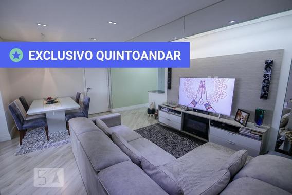 Apartamento No 23º Andar Mobiliado Com 3 Dormitórios E 2 Garagens - Id: 892951009 - 251009
