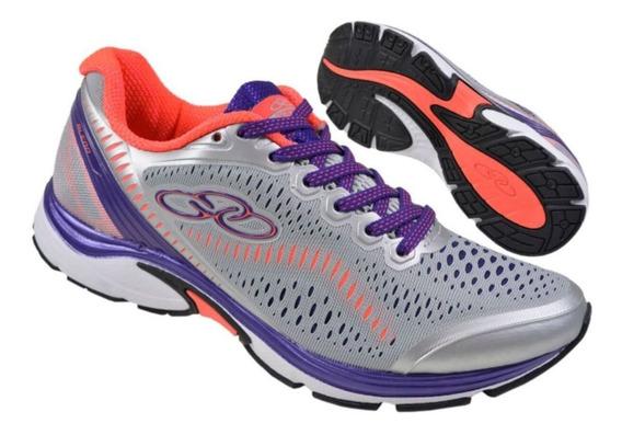 Tênis Para Corrida Caminhada Olympikus Blend Feminino