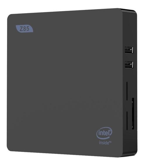 Mini Pc Z85 Midia Indoor Intel Hdmi/vga 2gb Ram Hd 32gb Nfe
