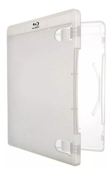 10 Un Estojo Box Case Ps3 & Blu-ray Amaray Transparente