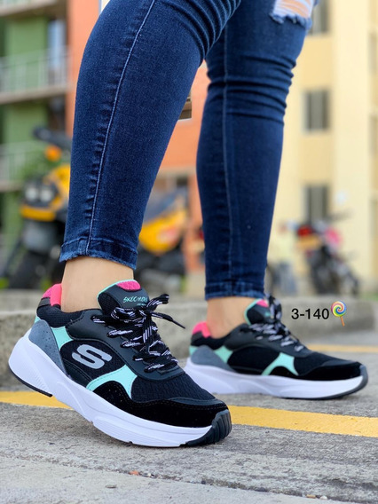 zapatos skechers damas 2018