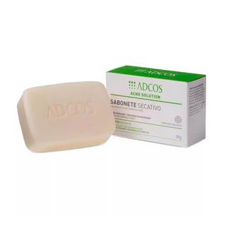 Adcos Acne Solution Sabonete Secativo Em Barra 90g