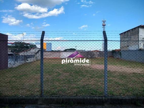 Terreno À Venda, 570 M² Por R$ 1.100.000,00 - Centro - São José Dos Campos/sp - Te1297