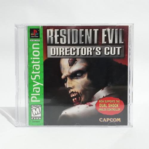 Jogo Resident Evil 1 Director's Cut Ps1 Playstaiton Original
