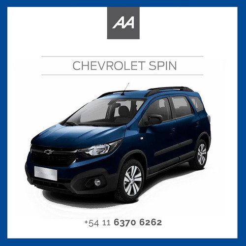 Imagen 1 de 2 de Chevrolet Spin Lt Adjudicada 100% 46c. Retire Y Gane $$