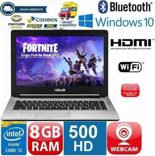 Ultrabook Asus S46cm Core I5 Hd 500gb + Ssd 24gb 8gb Promoção