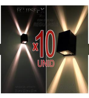 Difusor Exterior Con Efectos Especiales Moderno Combo X10uni