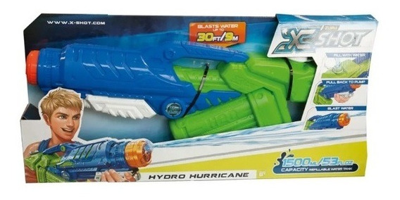 Lançador De Água X-shot Hydro Series Hydro Hurricane Candide