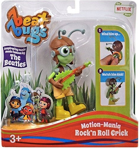 Beat Bugs Motion Mania Rock N Roll Crick