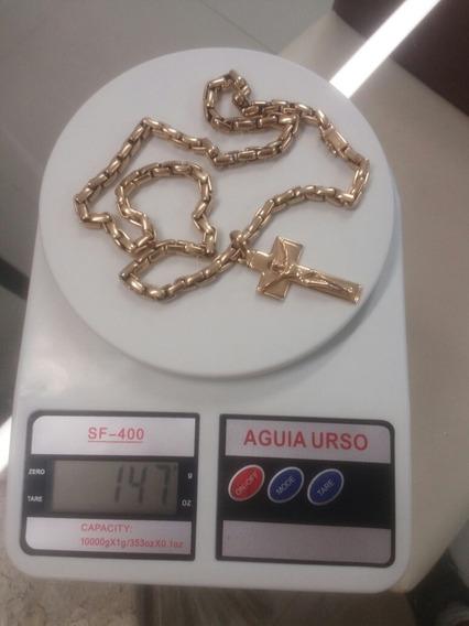 Cordão De Ouro Com 147 Gramas