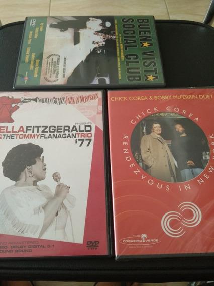 3 Dvds De Jazz