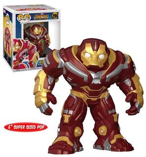 Funko Pop - Hulkbuster- Iron Man - Infinty War - Thor -groot
