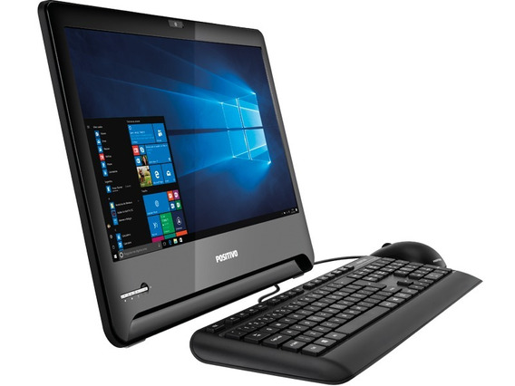 Computador Positivo All In One Core I3 7ger 4gb 500gb - Novo