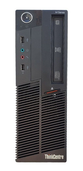 Pc Cpu Lenovo M90p Intel Core I5 4gb Ddr3 Hd 320gb Dvd Wifi
